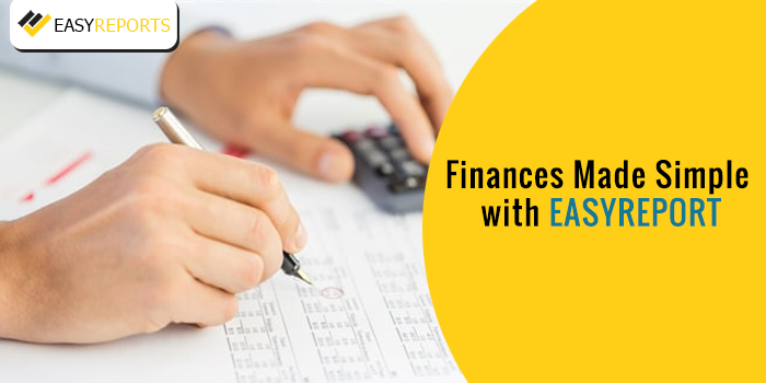Finances made simple with easy reports