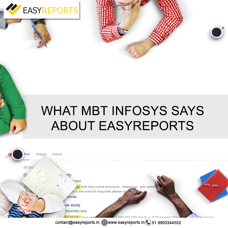 MBT Infosys about EasyReports