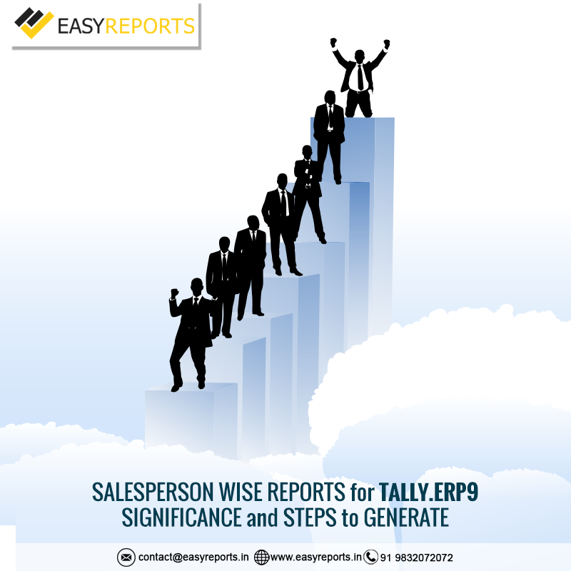 Salesperson wise reports for Tally.ERP9 – Significance and Steps to generate_15.1.2018