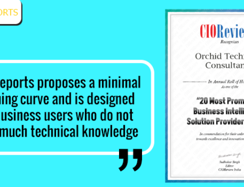 EasyReports (Orchid Technical Consultancy) gets the CIO review award