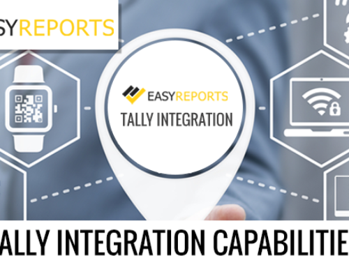 Tally Integration Capabilities