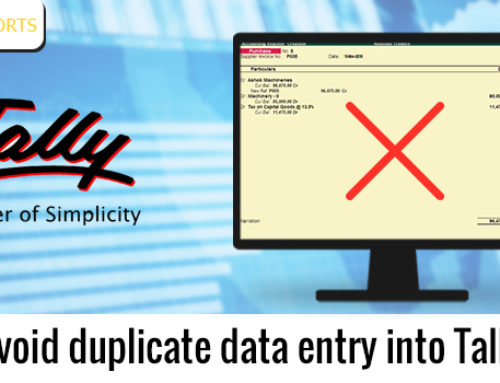 Avoid Duplicate Data Entry into Tally