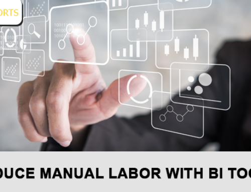 Reduce manual labor with BI tools