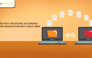 demand data synchronization with Tally ERP9
