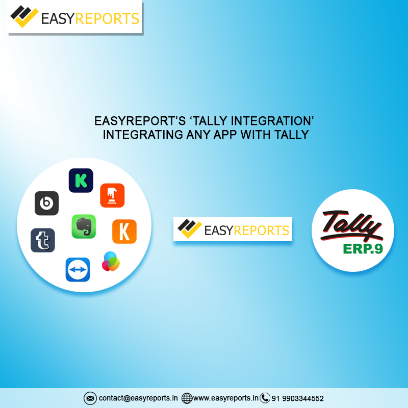 Easy Report's 'Tally Integration'