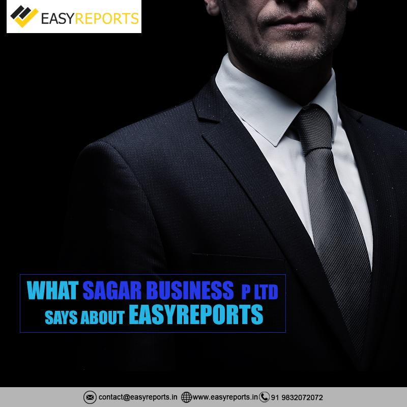 What Sagar BusinessP Ltd says about EasyReports