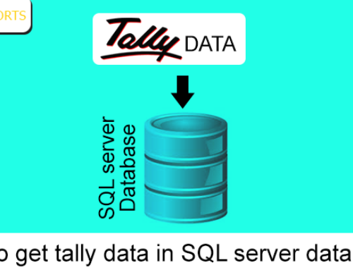How to get Tally Data in SQL Server Database?