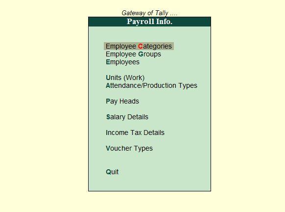 Payroll-info