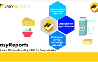 Quick and effortless reporting for dairy industries