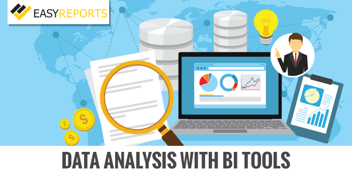 Data analysis with BI tools