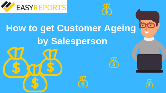 Customer aging by sales person